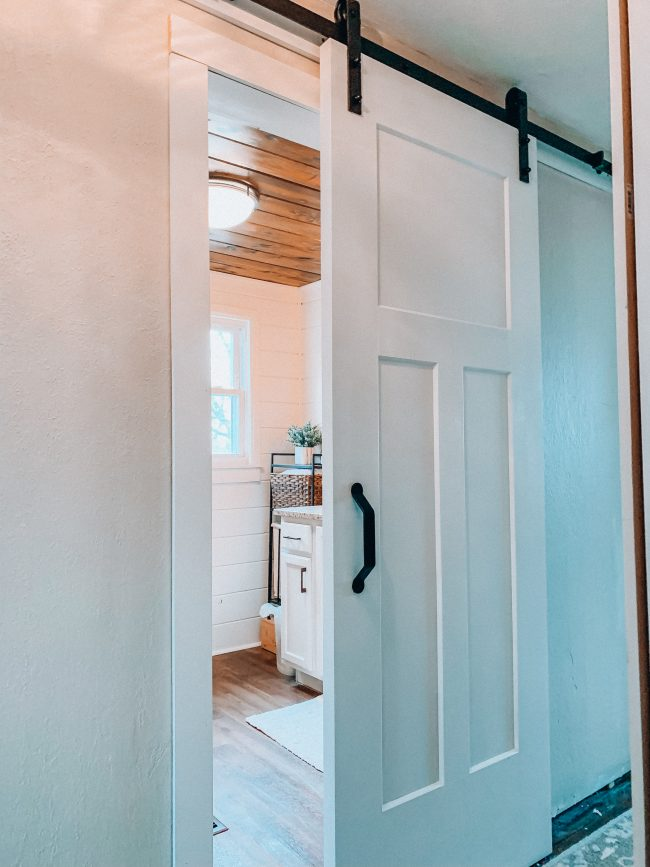 How to Make your Old Home Look New - with Just One Simple Change! || Kansas City life, home, and style blogger Megan Wilson shares how she transformed the look of her 1950's fixer upper with one thing
