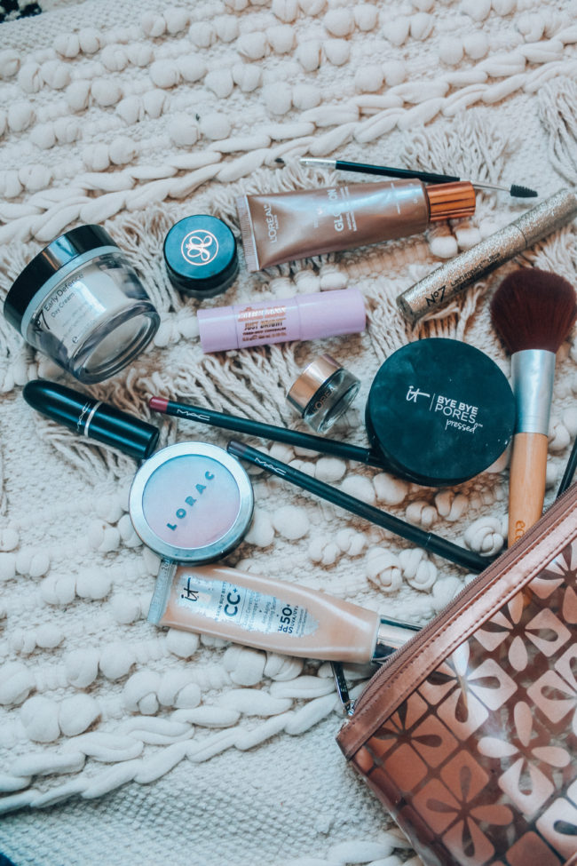 Beauty must haves for a simple make up routine - the products I'm currently using for my everyday makeup look! #beautyproducts #makeup #simplemakeup