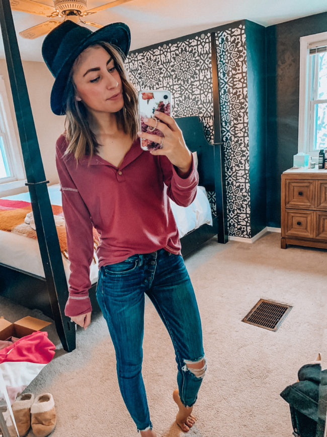 Winter and spring fashion / Kansas City life, home, and style blogger Megan Wilson shares her Amazon Finds - January | Week 1 - Affordable cute style that's fun and won't break the bank! #amazon