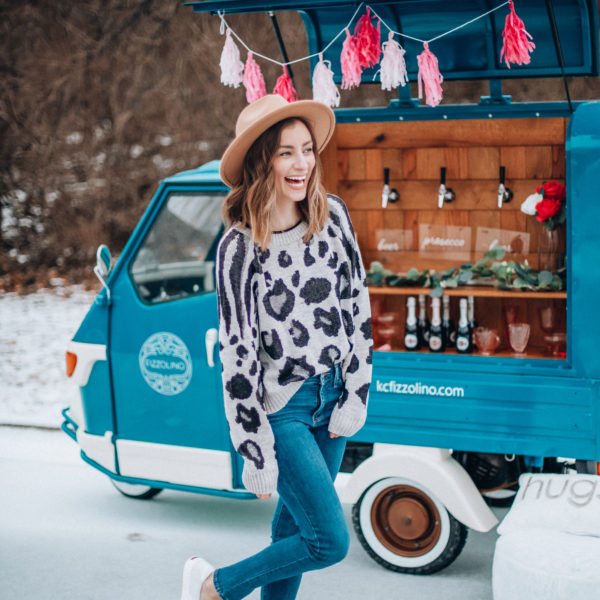What is Galentine's Day? Here's what it is...and how to celebrate! Kansas City life, home, and style blogger Megan Wilson shares one way to celebrate Galentine's Day!