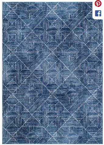 10 affordable + pretty living room rugs to spruce up your home and give it a fresh new look! Plus, I'm sharing why I'll never buy a jute rug again. Kansas City life, home, and style blogger Megan Wilson shares a roundup of 10 living room rugs. Blue area rug.