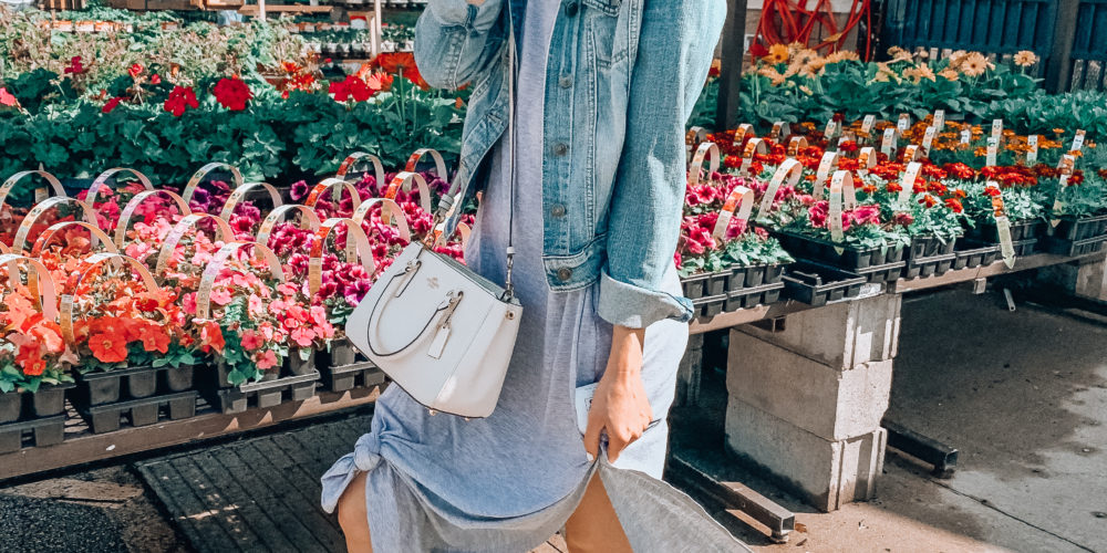 Spring and summer tee shirt dress from AMAZON! | Casual spring and summer fashion. Kansas City life, home, and style blogger Megan Wilson shares her Amazon Finds - March Affordable cute style that's fun and won't break the bank! #amazon #amazonfashion #amazonclothes #amazonfinds