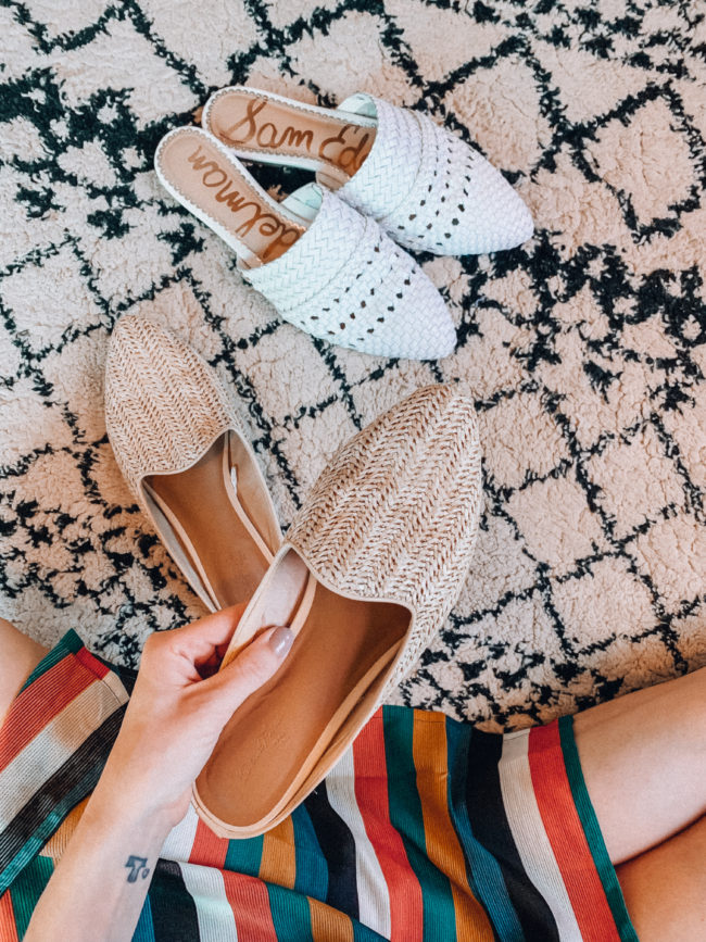 The best mules for spring and summer // Spring and summer shoes || Kansas City life, home, and style blogger Megan Wilson shares a roundup of some of her favorite mules for the warmer months!