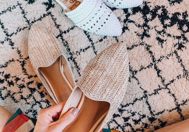The best mules for spring and summer // Spring and summer shoes    Kansas City life, home, and style blogger Megan Wilson shares a roundup of some of her favorite mules for the warmer months!