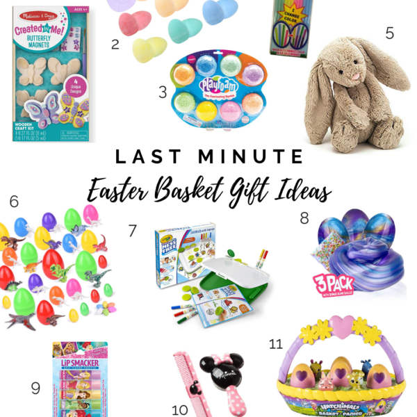 Last minute Easter basket gift ideas - a bunch of items you can still get IN TIME for Easter! || Kansas City life, home, and style blog