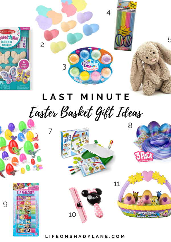 Last Minute Easter Basket Gift Ideas