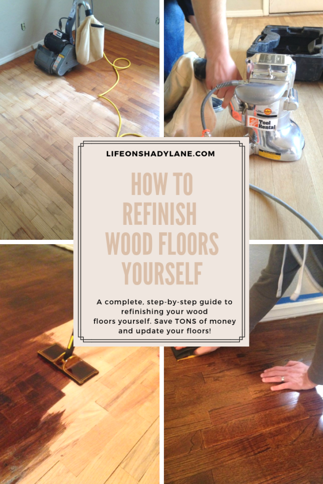 How To Refinish Hardwood Floors Part 1