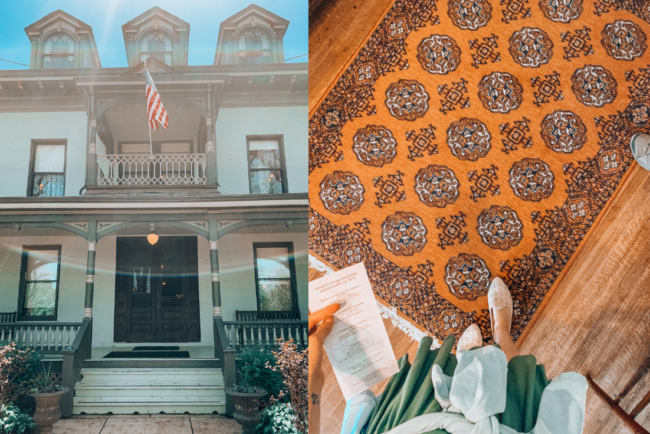 Bingham-Waggoner Estate and Vaile Mansion in Independence, Missouri ||  Kansas City life, home, and style Blogger Megan Wilson shares a staycation trip to Independence, Missouri! #lovethesquare #staycation #visitmissouri
