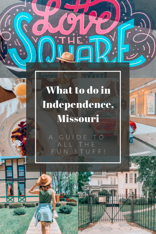 What to do in Independence, Missouri - A guide to all the fun stuff! | Kansas City life, home, and style Blogger Megan Wilson shares a staycation trip to Independence, Missouri! #lovethesquare #staycation #visitmissouri