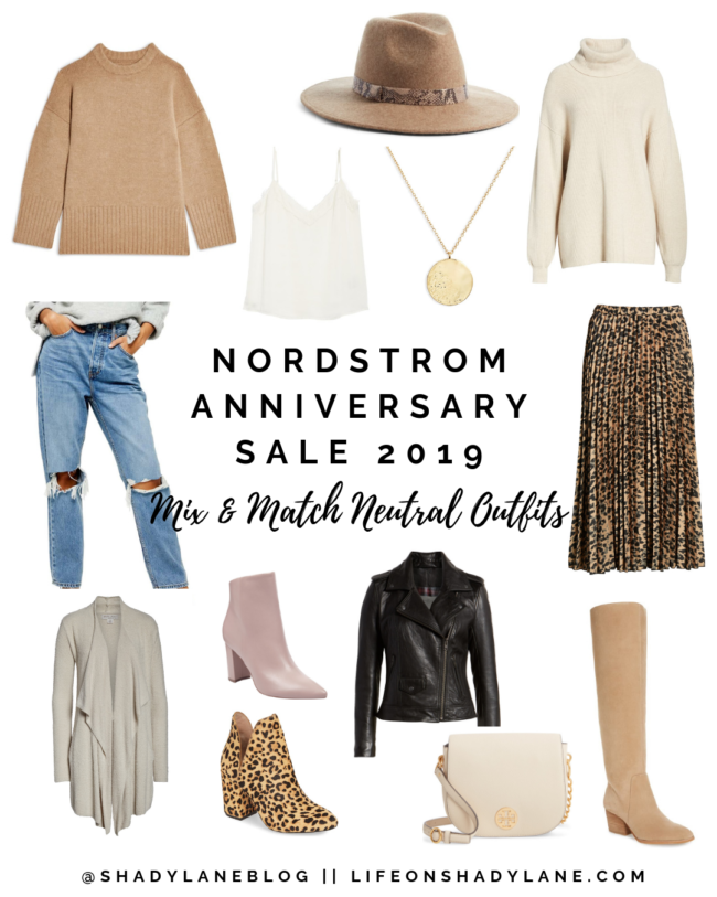 Mix & Match Neutral Outfits from the Nordstrom Anniversary Sale 2019 - Mix and match all of these neutral pieces to create several outfits! // What I actually ordered, ALL of my top picks, what I hope restocks, etc! // Kansas City life, home, and style blogger Megan Wilson shares her top picks from the 2019 Nordstrom Anniversary Sale