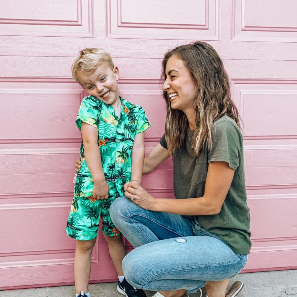 Back to school shopping guide for preschool boys || Kansas City life, home, and style blogger Megan Wilson shares her top picks + what she purchased for back to school!