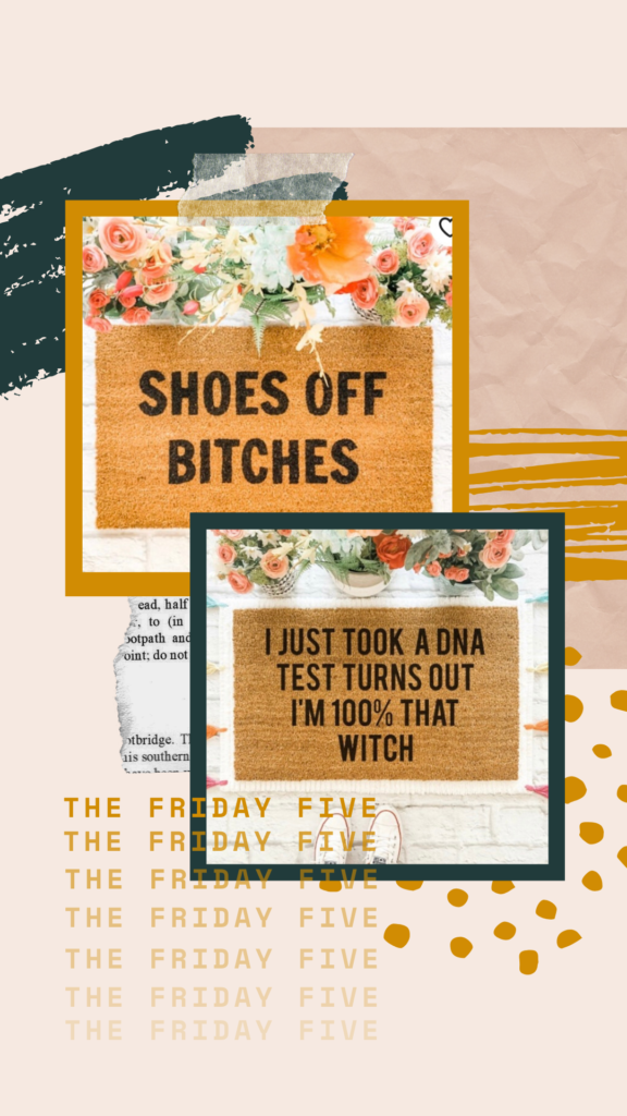 The Friday Five // A roundup of five (random) things from around the web that I'm loving this week! || Kansas City life, home, and style blogger Megan Wilson shares her Friday Five