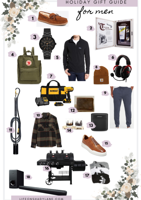 Holiday Gift Guide | For Men