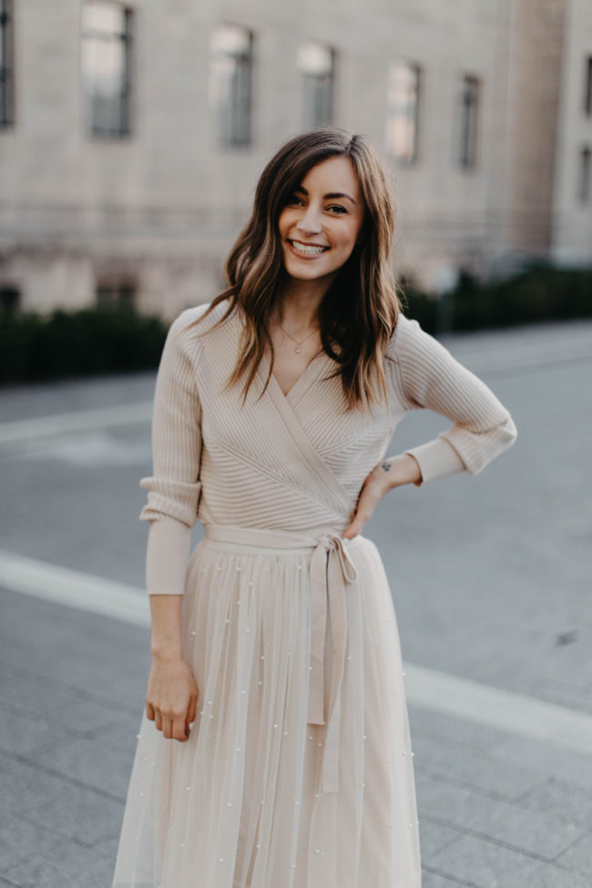 What to wear for fall and holiday family pictures | Kansas City life, home, and style blogger Megan Wilson shares outfit ideas for the whole family