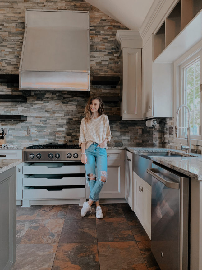 A video tour of the home we just bought - see it before we decorate/design to make it our own. It's a blank slate right now! Kansas City life, home + style