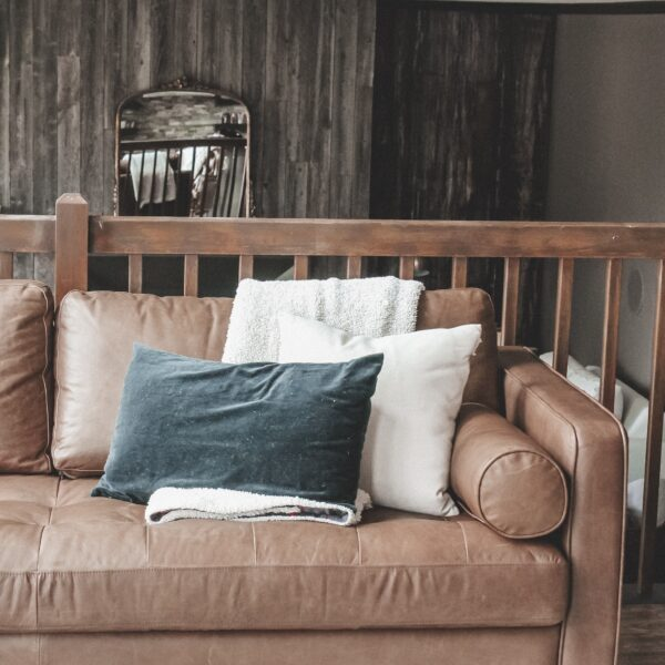 How to condition a leather sofa