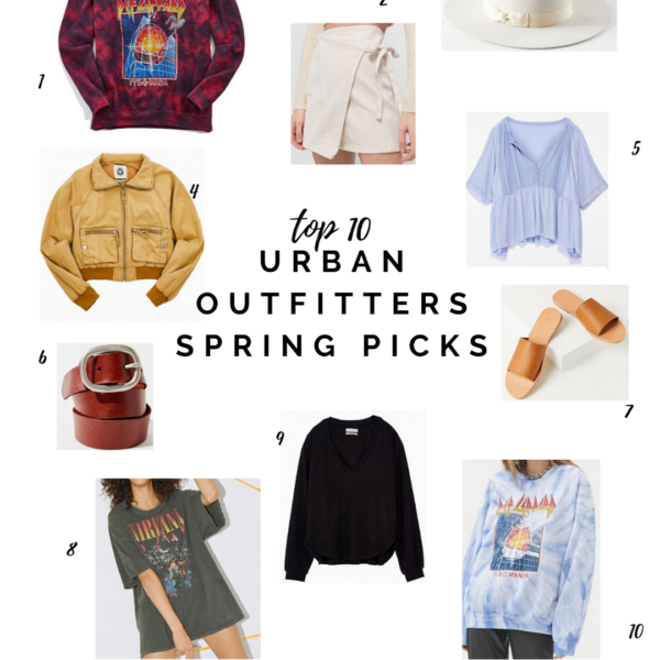 TOP 10 Urban Outfitters Spring Picks! || Kansas City life, home, and style blogger Megan Wilson shares casual outfit pieces for SPRING