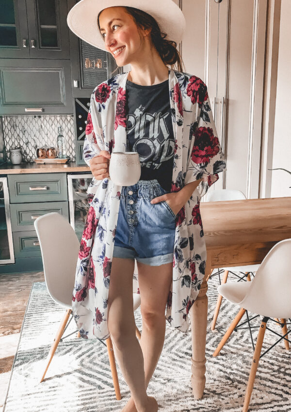 Cute Kimonos to wear this Summer (plus some tips on how to wear one)