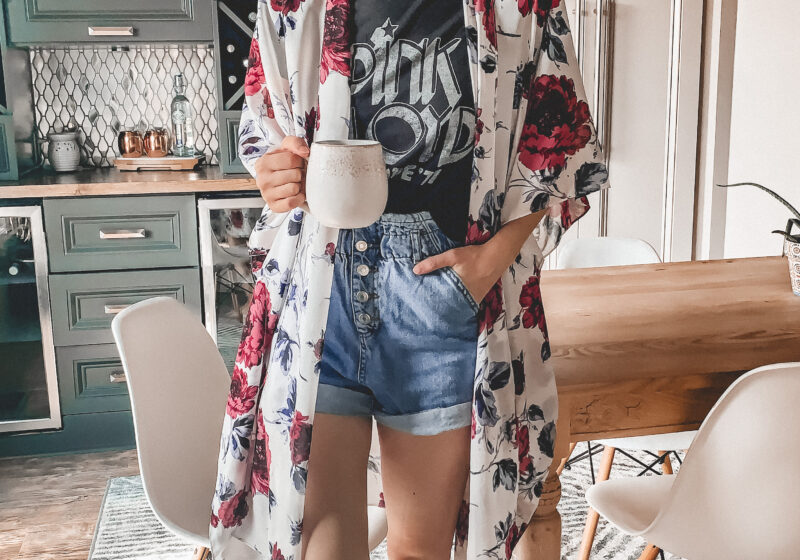8 Cute kimonos to wear this summer! // Not quite sure how to wear a kimono? I've shared a couple tips, too! || Kansas City life, home, and style blogger