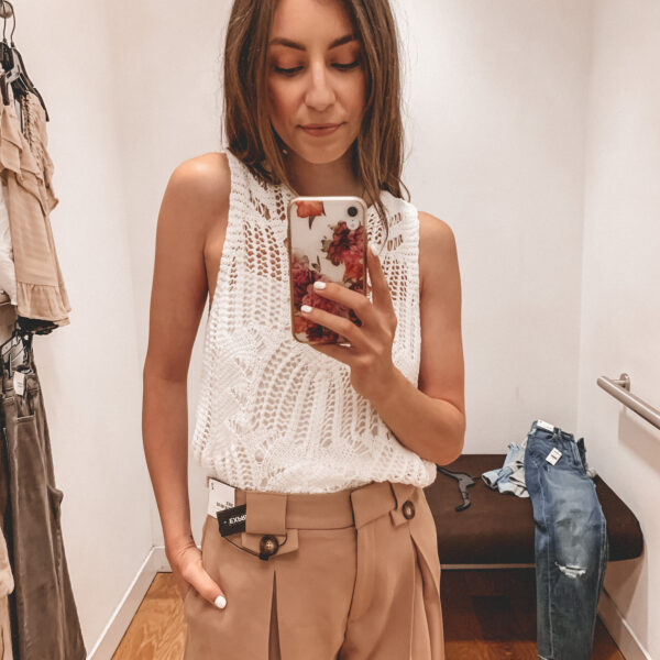 Casual summer style and outfits from Express | Affordable summer outfit inspiration | Kansas city life, home, and style blogger Megan Wilson