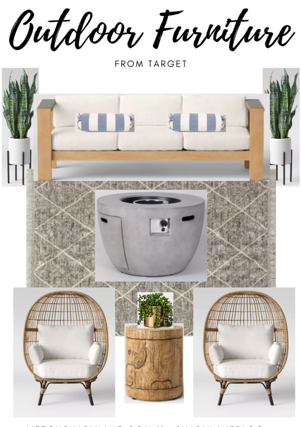 Outdoor Furniture from Target