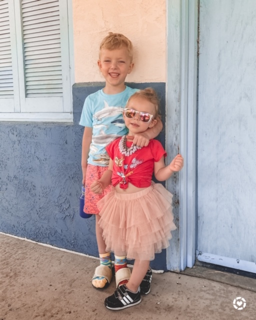 kids summer outfits | Kansas City life, home, and style blogger Megan Wilson shares her June Instagram Roundup