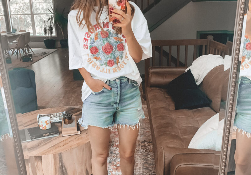 6 ways to style denim shorts this summer