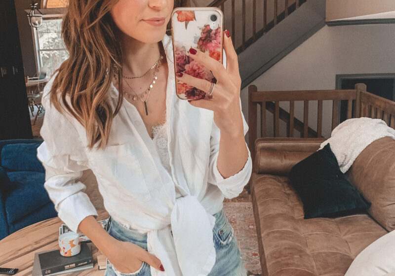 8 white button ups to wear this summer