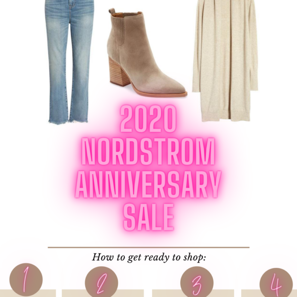It's. almost. HERE! Nordstrom's biggest sale of the year begins soon, and today I'm sharing all the details you'll need to know about the Nordstrom Anniversary Sale 2020. I'm answering all your questions, giving you all the details, my tips and tricks, and info on when to shop!