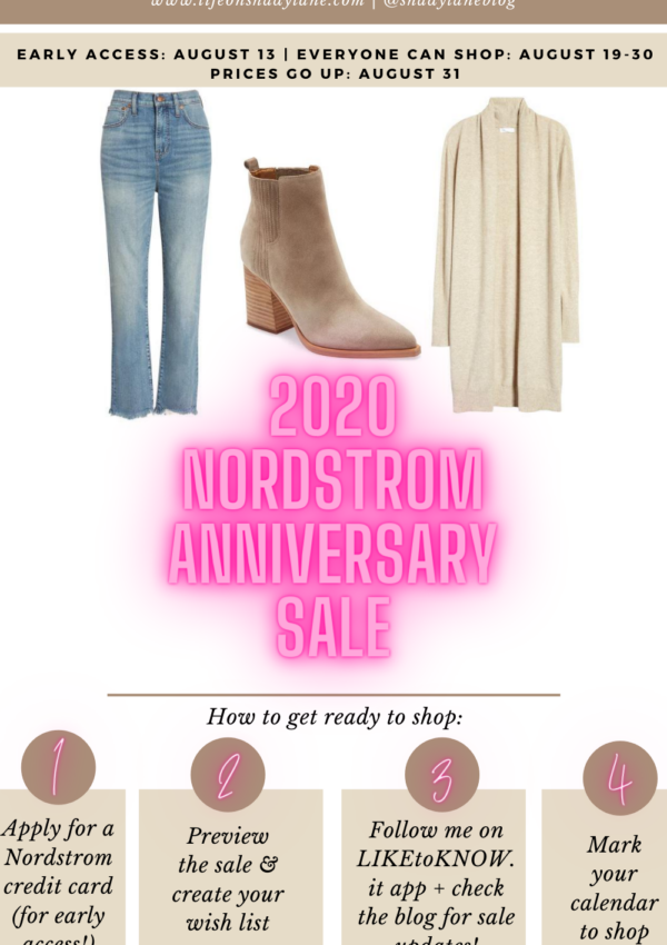 How to Get Ready for the Nordstrom Anniversary Sale 2020