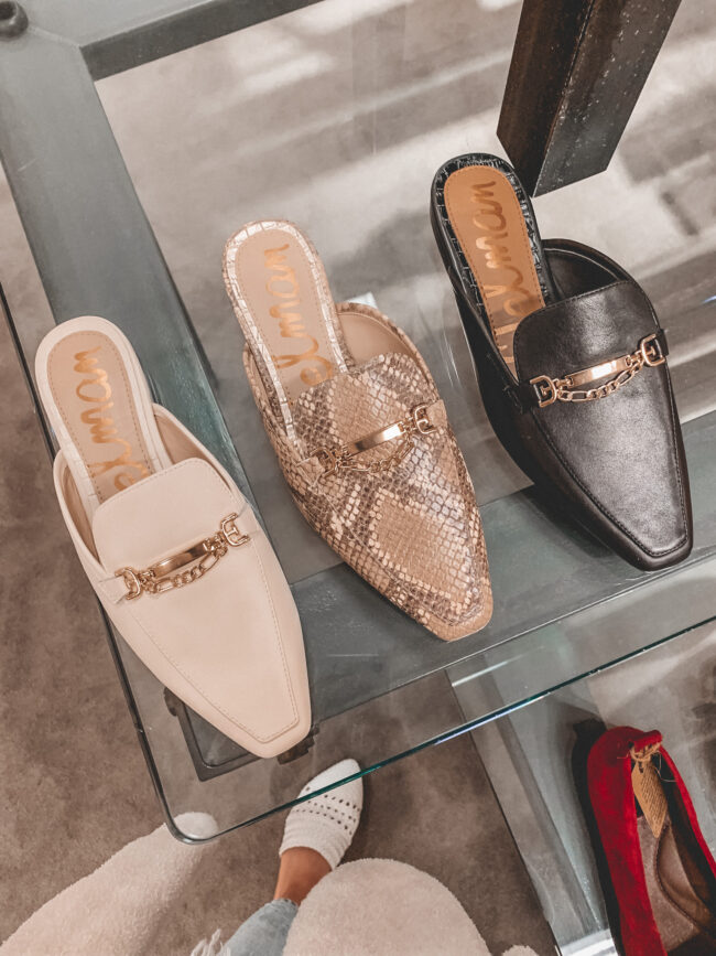 mules for fall | Nordstrom Anniversary Sale 2020 try-on haul and shopping guide | @shadylaneblog