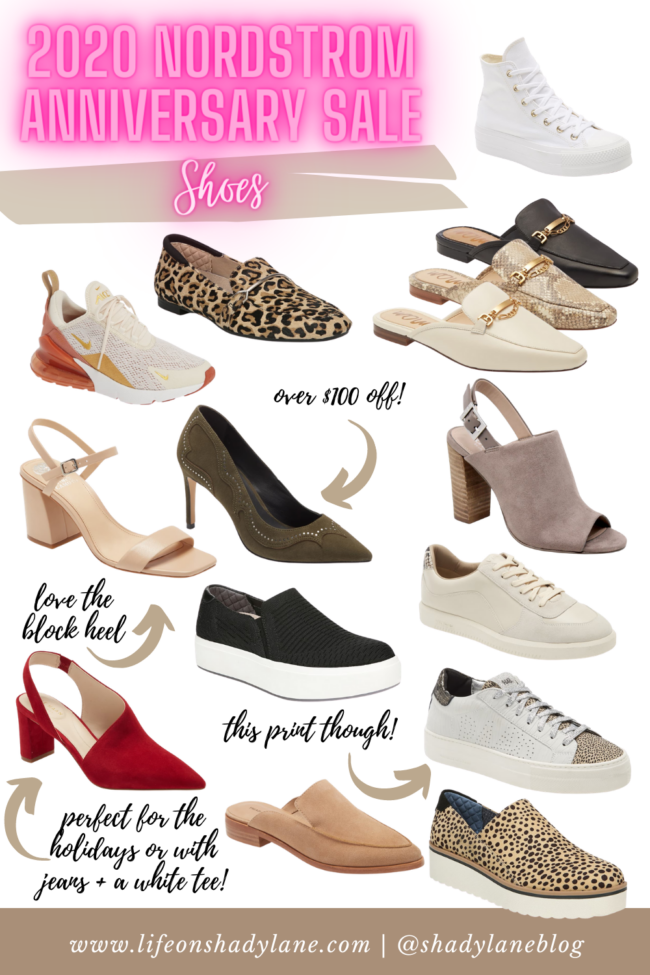 fall shoes from the 2020 Nordstrom Anniversary Sale || All the fall outfits and wardrobe staples you'll need this fall!