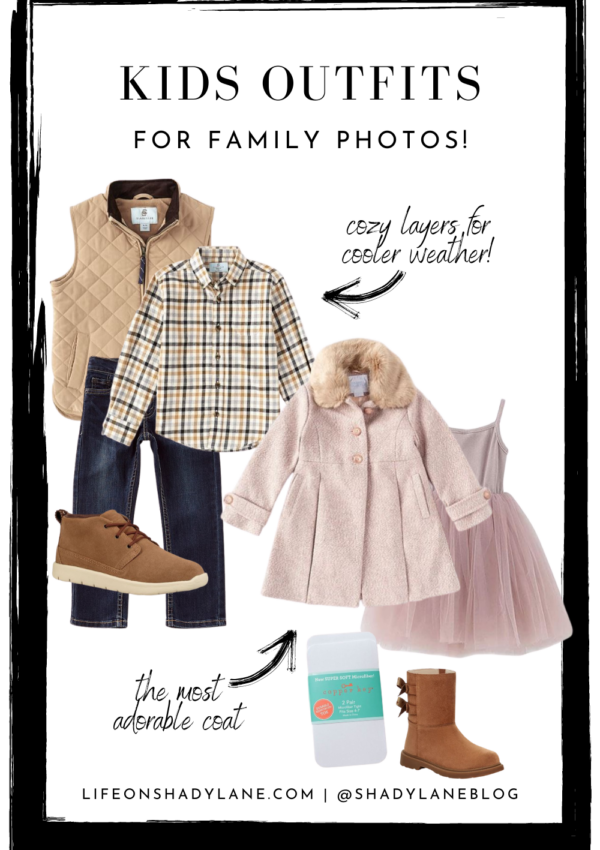 Outfits for fall family pictures