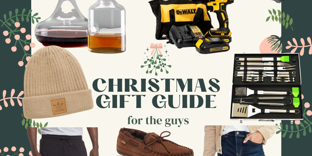 Lots of Christmas gift ideas for men – there's something for every guy on your list this holiday season! So many fun, unique gift ideas for men