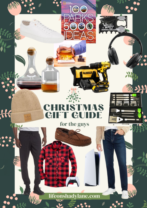 Christmas gift guide | for the guys