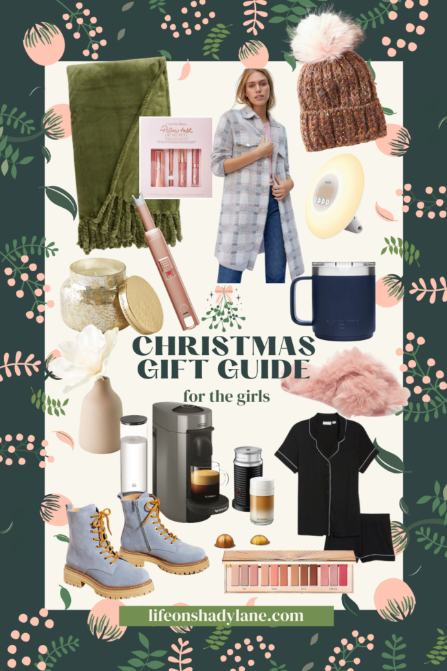 Christmas gift ideas for women | There's something for everyone on your list! | Kansas City life, home, and style blogger Megan Wilson shares Christmas present ideas for girls