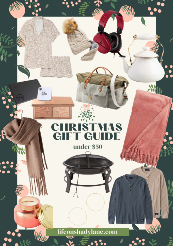 Christmas gift guide | under $50