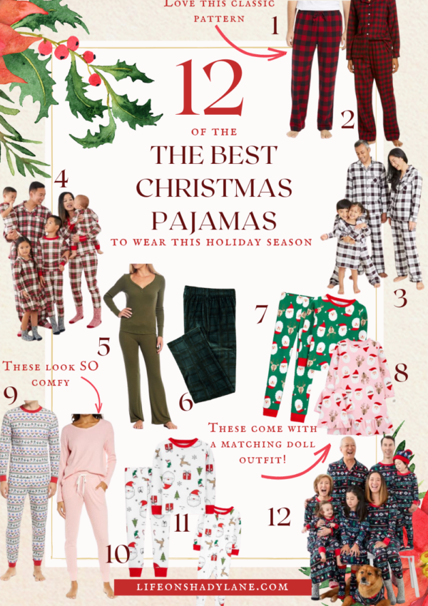 Christmas pajamas to wear this holiday season