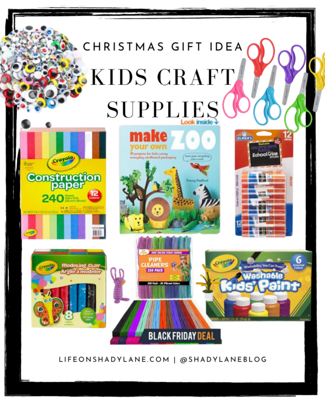 Christmas Gift Ideas for kids - craft supplies! | A roundup of all of the best deals for Black Friday 2020 ! Black Friday deals and Christmas gift ideas | Kansas City life, home, and style