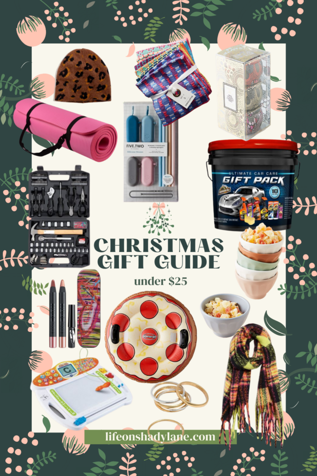 Christmas gifts under $25 | Kansas City life, home, and style blogger Megan Wilson shares her picks! #giftguide