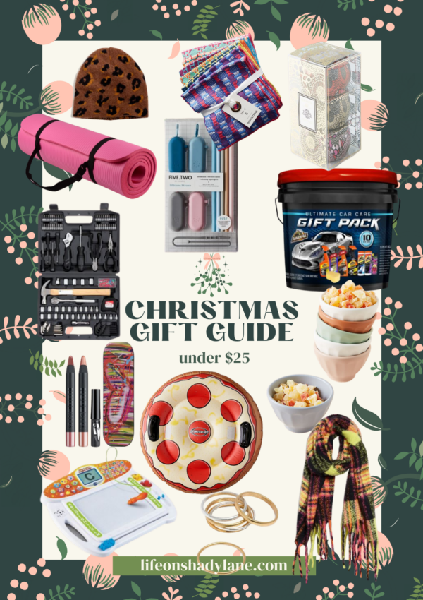 Christmas gift guide | under $25