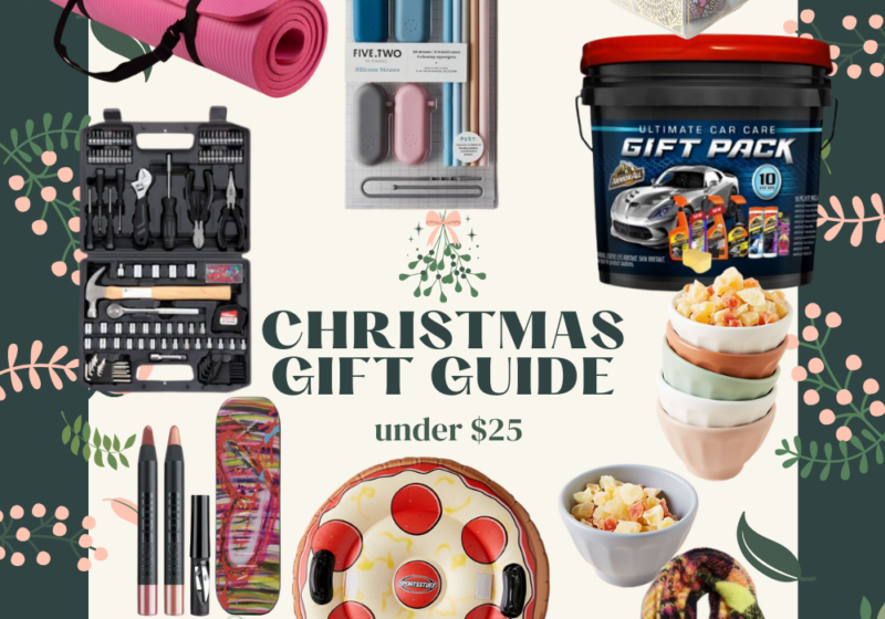 Lots of Christmas gifts under $25 – there's something for everyone on your list this holiday season! So many fun, unique gift ideas under $25 this Christmas. | Kansas City life, home, and style blogger Megan Wilson shares her gift ideas