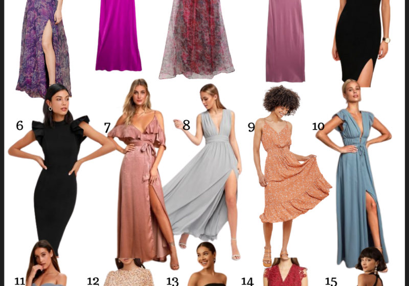 Wedding guest dresses for spring