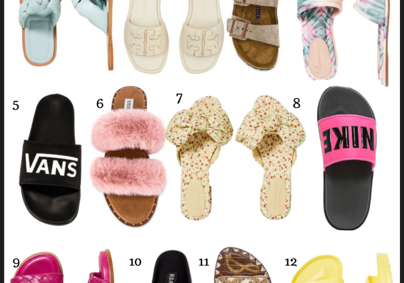 Sandals for spring and summer that are comfortable and stylish | Kansas City life, home, and style blogger Megan Wilson shares a roundup of spring and summer sandals