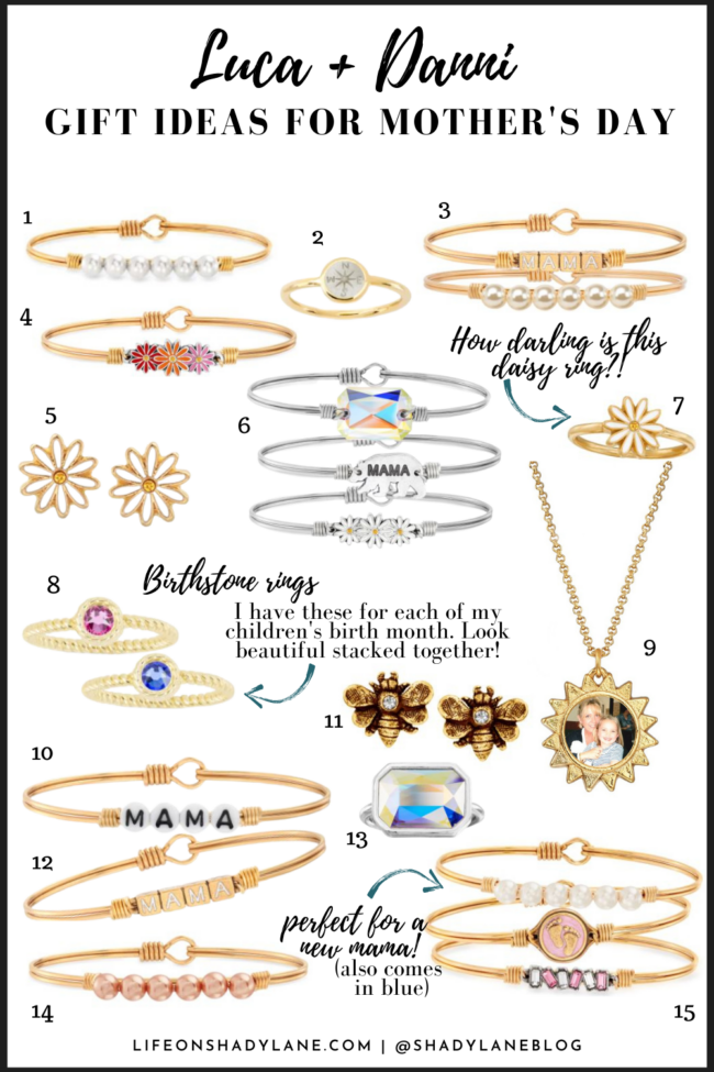 Mother's day gift ideas from Luca + Danni | Kansas City life, home, and style blogger Megan Wilson shares her top mother's day gift ideas | @shadylaneblog on Instagram