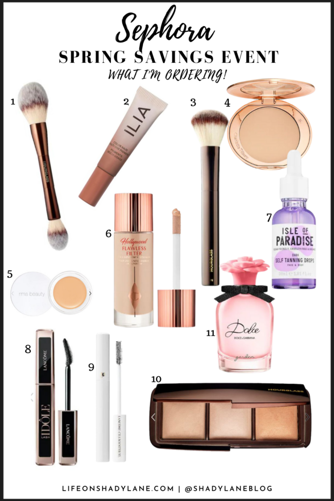 Sephora spring sale event - my tried and true OG favorite products plus the new products I'm looking forward to trying out! | Spring and summer beauty must haves | Kansas City life, home, and style blogger Megan Wilson