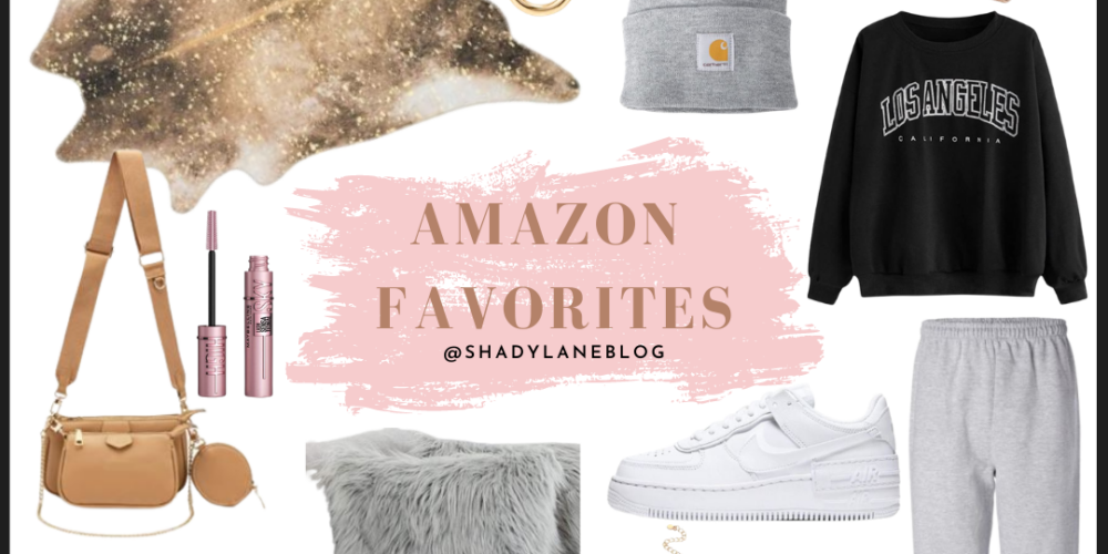 A roundup blog post of all the must have Amazon items you need | my most recent Amazon favorites | Kansas City life, home, and style blog
