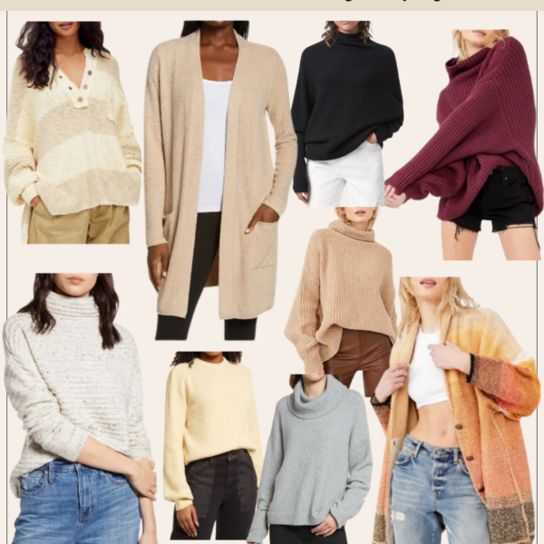 Nordstrom Anniversary Sale 2021 Shopping Guide | Sweaters | Kansas City life, home, and style blogger Megan Wilson @shadylaneblog shares her top picks!
