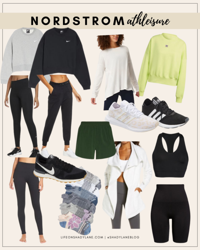 Nordstrom Anniversary Sale 2021 Shopping Guide | Athleisure and workout wear | Kansas City life, home, and style blogger Megan Wilson @shadylaneblog shares her top picks!