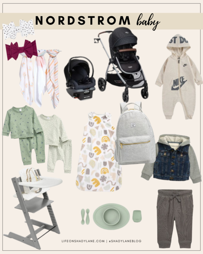 Nordstrom Anniversary Sale 2021 Shopping Guide | Baby Gear, must-have baby items | Kansas City life, home, and style blogger Megan Wilson @shadylaneblog shares her top picks!
